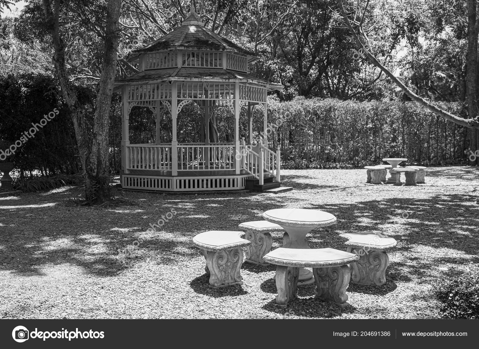 Amazing Gazebo Architecture Outdoors Wooden Structure Bench Table Ibusinesslaw Wood Chair Design Ideas Ibusinesslaworg