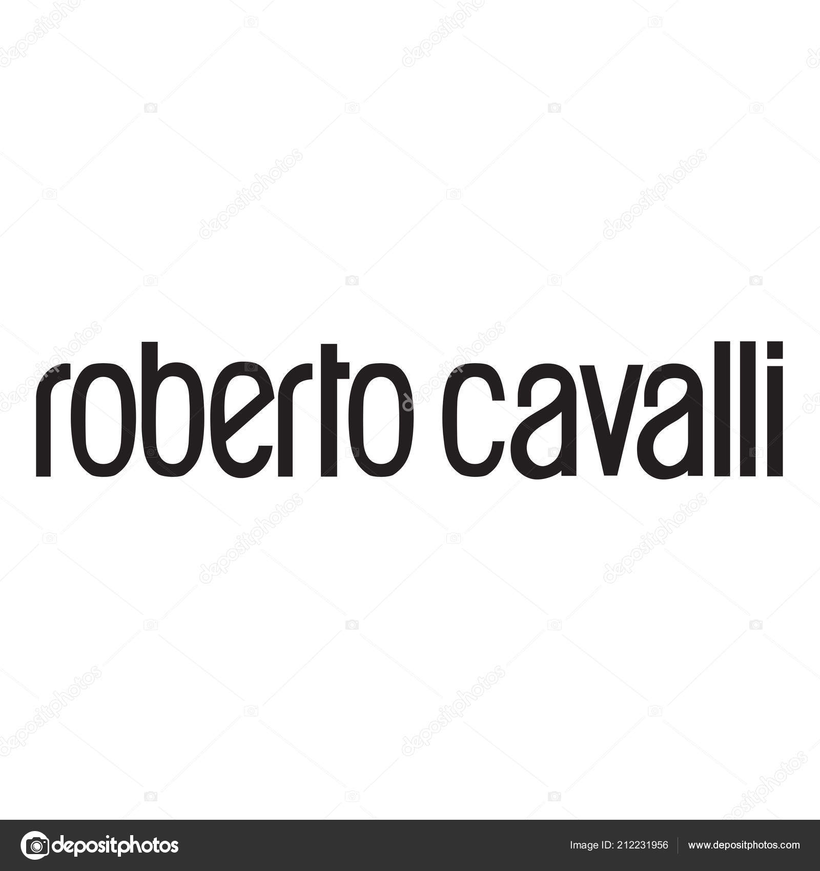 new arrivals c5440 b0fcc Roberto Cavalli Luxury Fashion Brand Logo Clothes ...