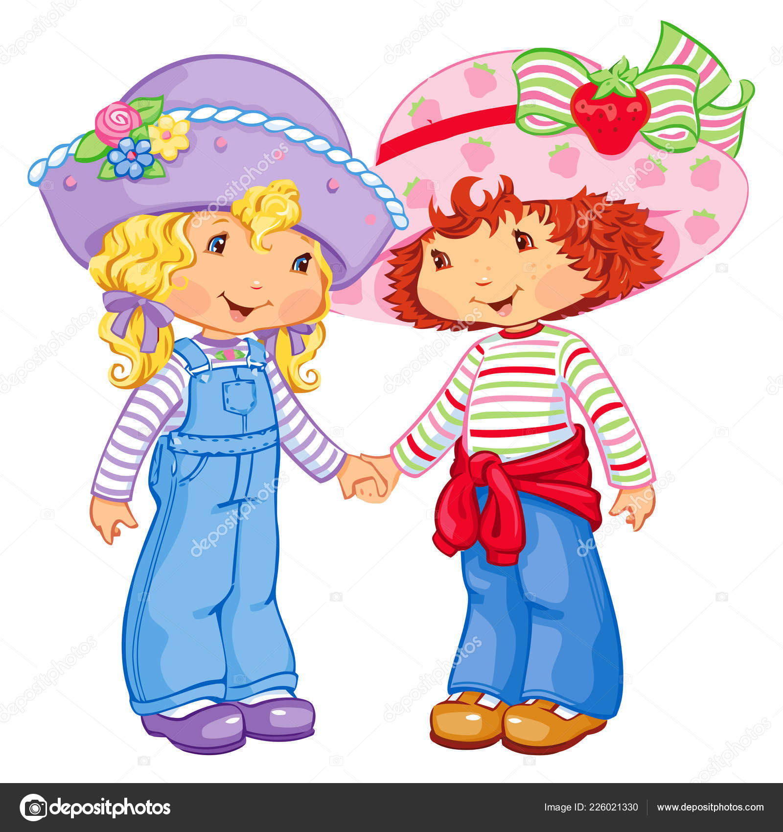 ᐈ Strawberry Shortcake And Friends Stock Pics Royalty Free
