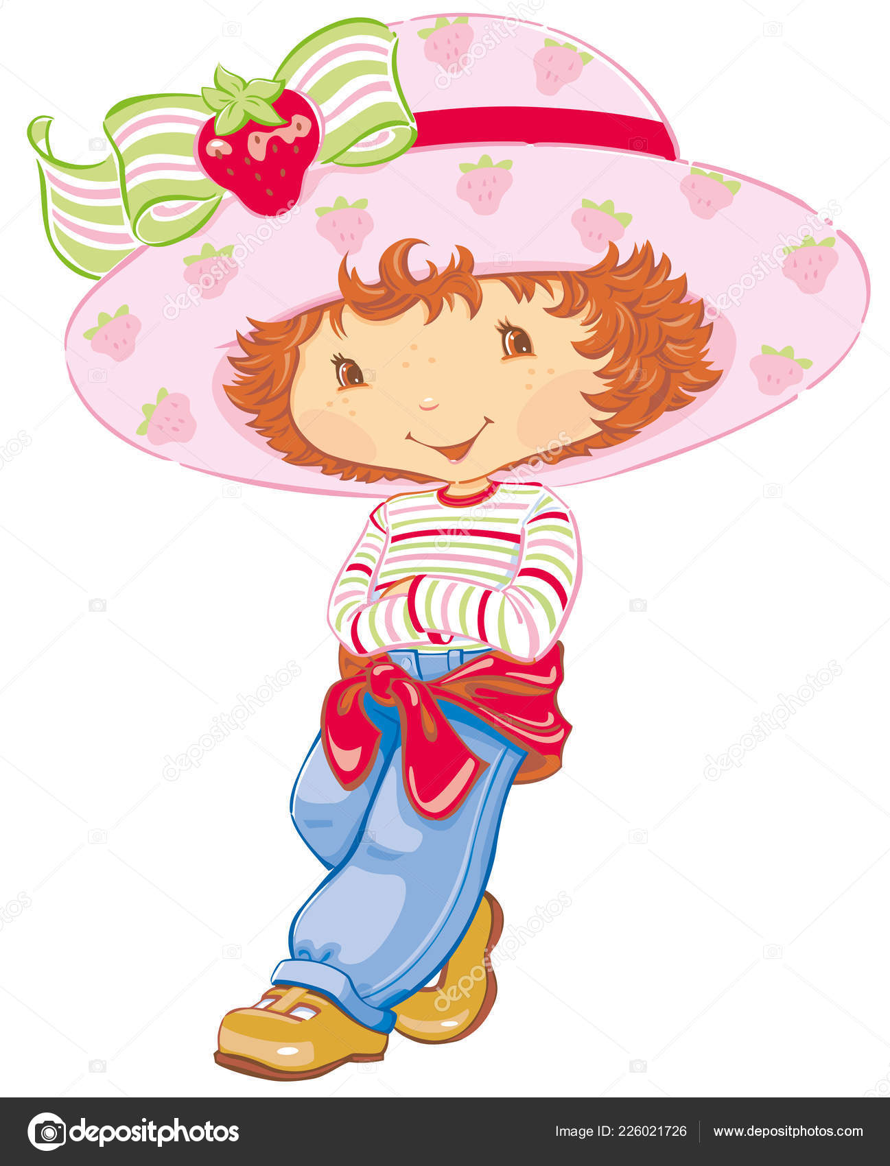 Pictures Strawberry Shortcake Doll Strawberry Shortcake Posing