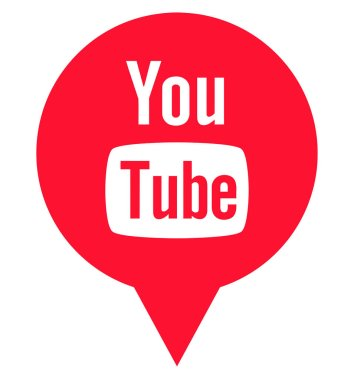 youtube logo sign channel video sharing media square