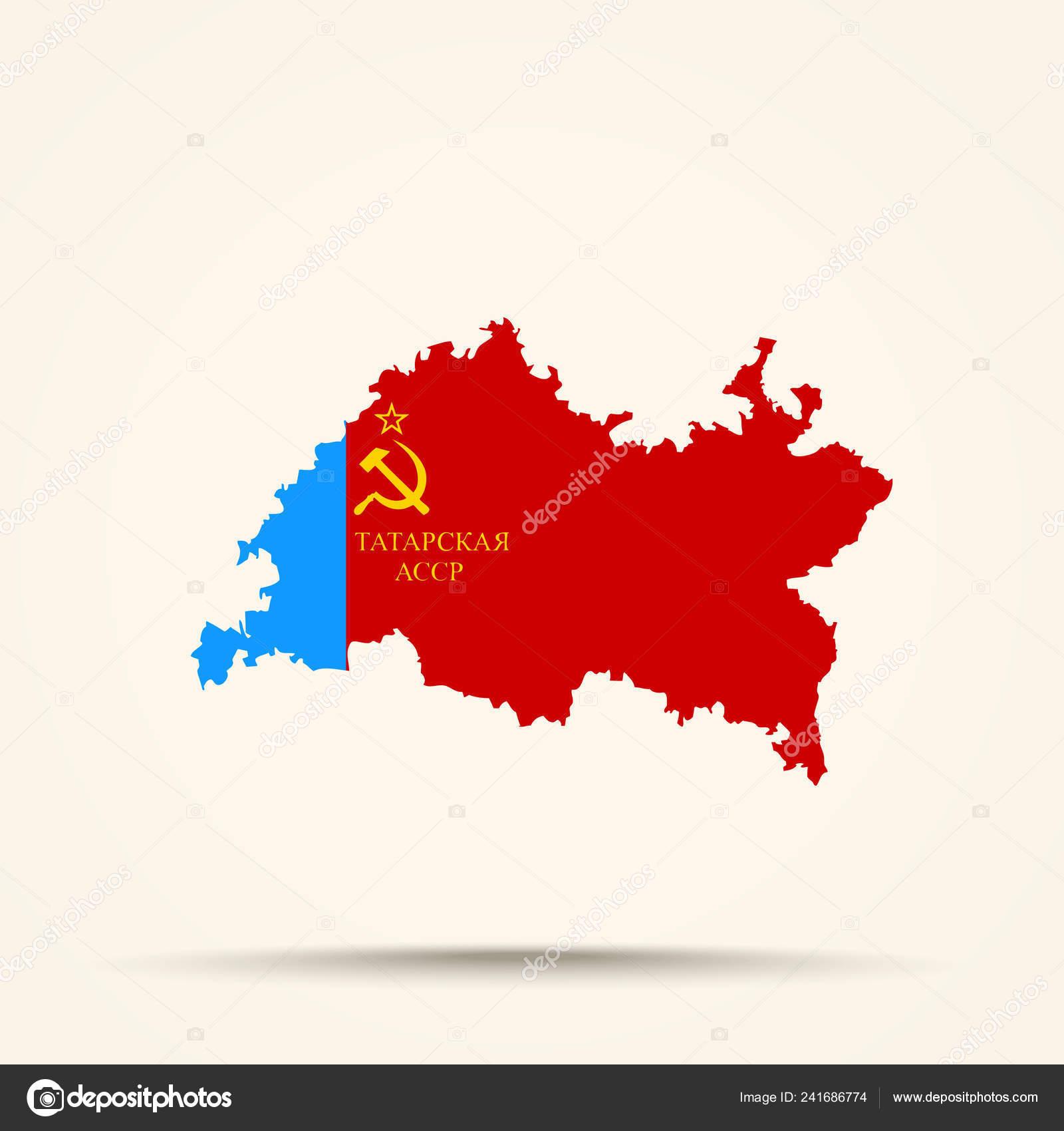 Татарский флаг цвет