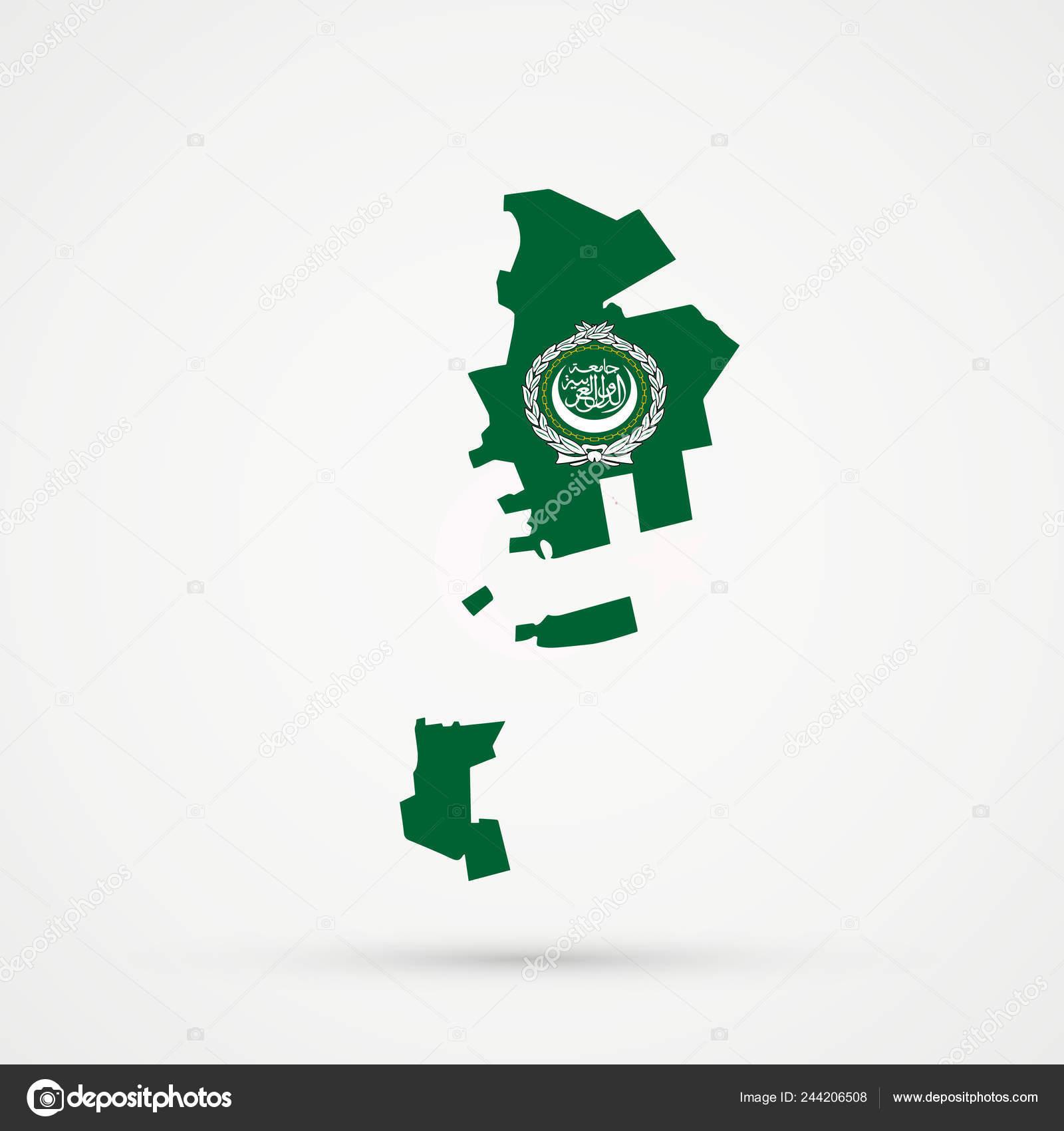 Picture of: Gagauzia Map Arab League Flag Colors Editable Vector Stock Vector C L8l 244206508