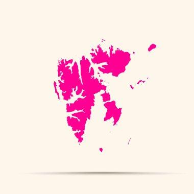 """Картина, постер, плакат, фотообои """"розовый шпицберген, шпицберген, карта постеры санкт-петербург художник мосты"""", артикул 396974100"""