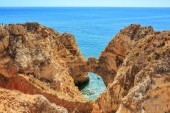 Photo The coast of the Algarve in southern Portugal near Lagos