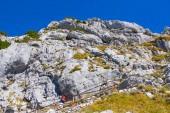 Fotografie Aufstieg auf den Gipfel des Berges Wendelstein 1889m