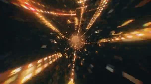 Digitální kód v šestnáctkové soustavě údaje tunel