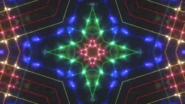 Absztrakt disco kaleidoszkópjaikkal háttér