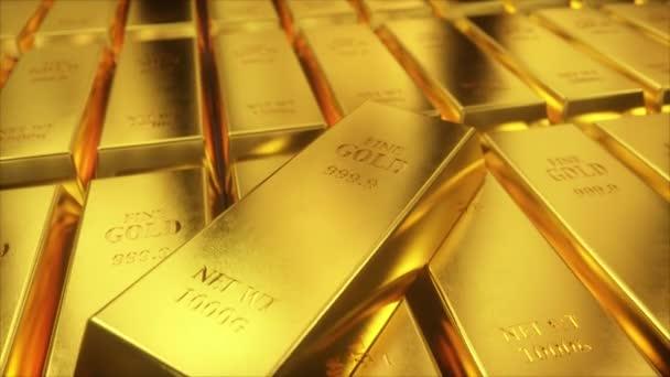 A fal millió aranyrúd. 3D teszi az ultra HD 4k minőség.