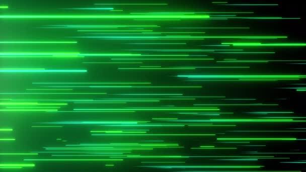 Abstraktní směrové neonové čáry geometrické pozadí