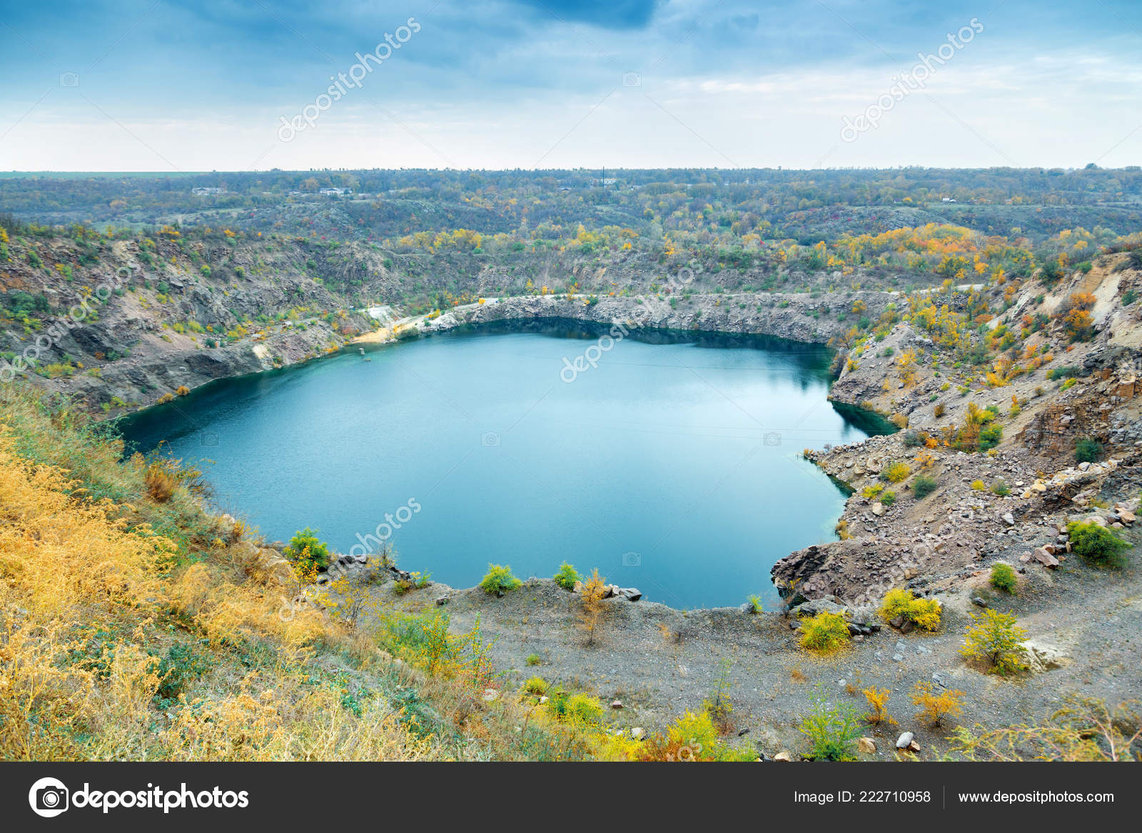 great radon blue lake stock photo batechenkofff 222710958