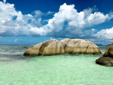 travel to Seychelles, tropical seascape