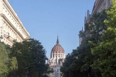 Budapest. The building of the Hungarian Parliament.