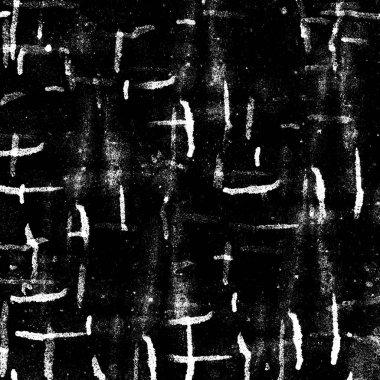 Dark Grunge Geometric Pattern
