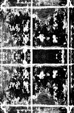 Black and white monochrome old grunge vintage weathered background abstract antique texture with retro pattern