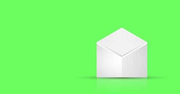animace - moderní pohyb obálky návrhu pozadí
