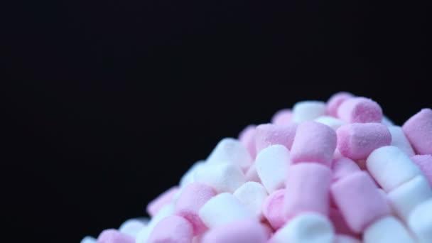 Fehérmályva rózsaszín és fehér candy forgatása háttér.