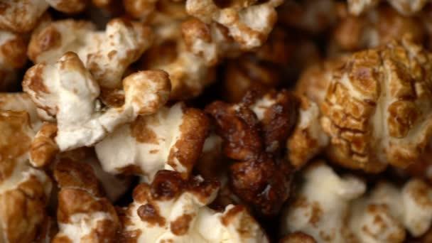 popcorn otočení pohybu pozadí.