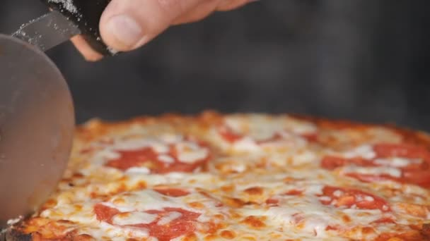 Italská pizza v restauraci