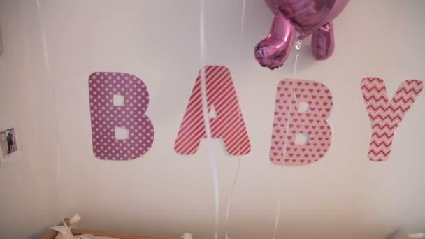 Dekorace dětské ložnice po porodnice