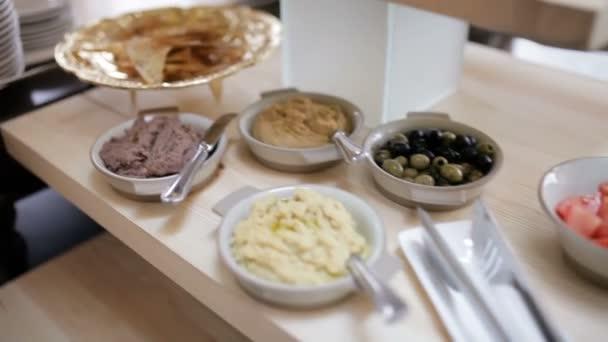 Frühstücksbuffet-Konzept im Luxus-Restaurant