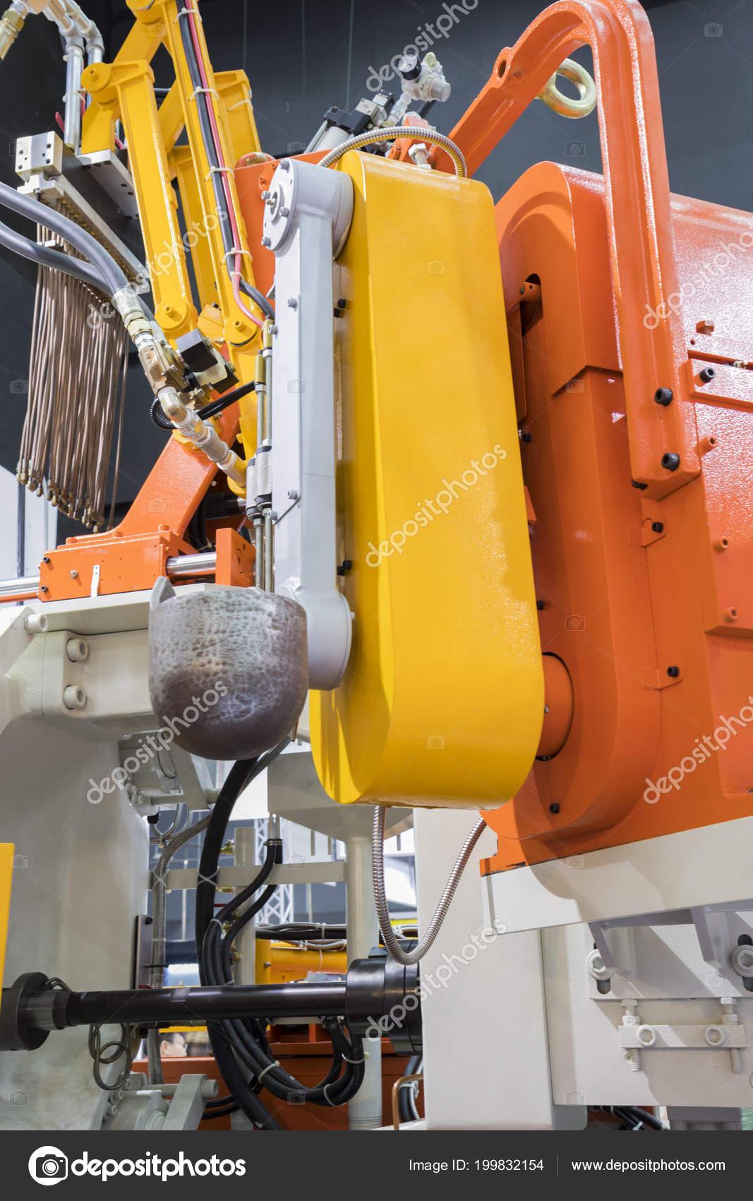 High pressure die casting machine — Stock Photo