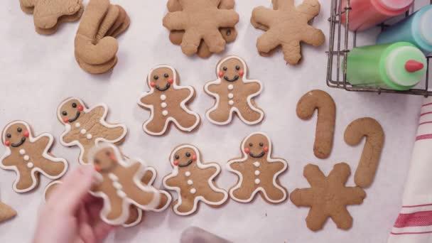 Decorer Des Biscuits Pain Epice Avec Glacage Royal Pour Noel Video