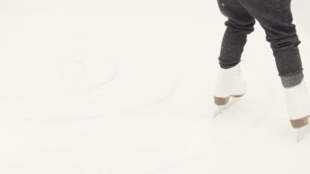 Ice skating lesson