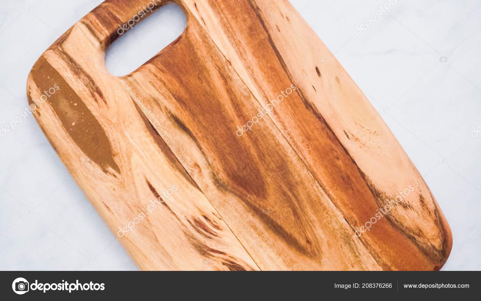 Rustic Wood Cutting Board Marble Kitchen Counter Stock Photo C Urban Light 208376266