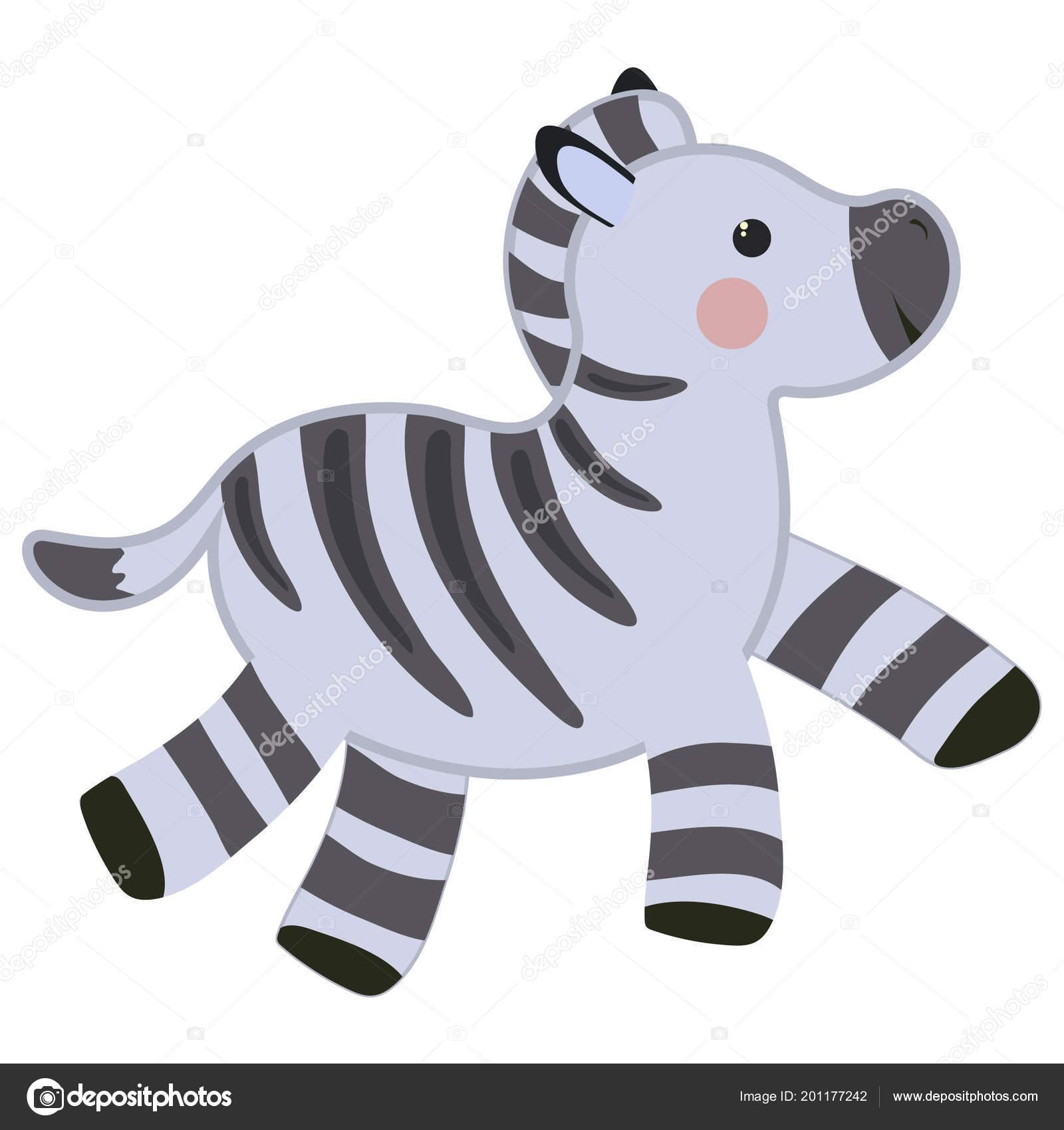Z Buchstaben Nachzeichnen Zebra Niedliche Kinder Zoo Alphabet