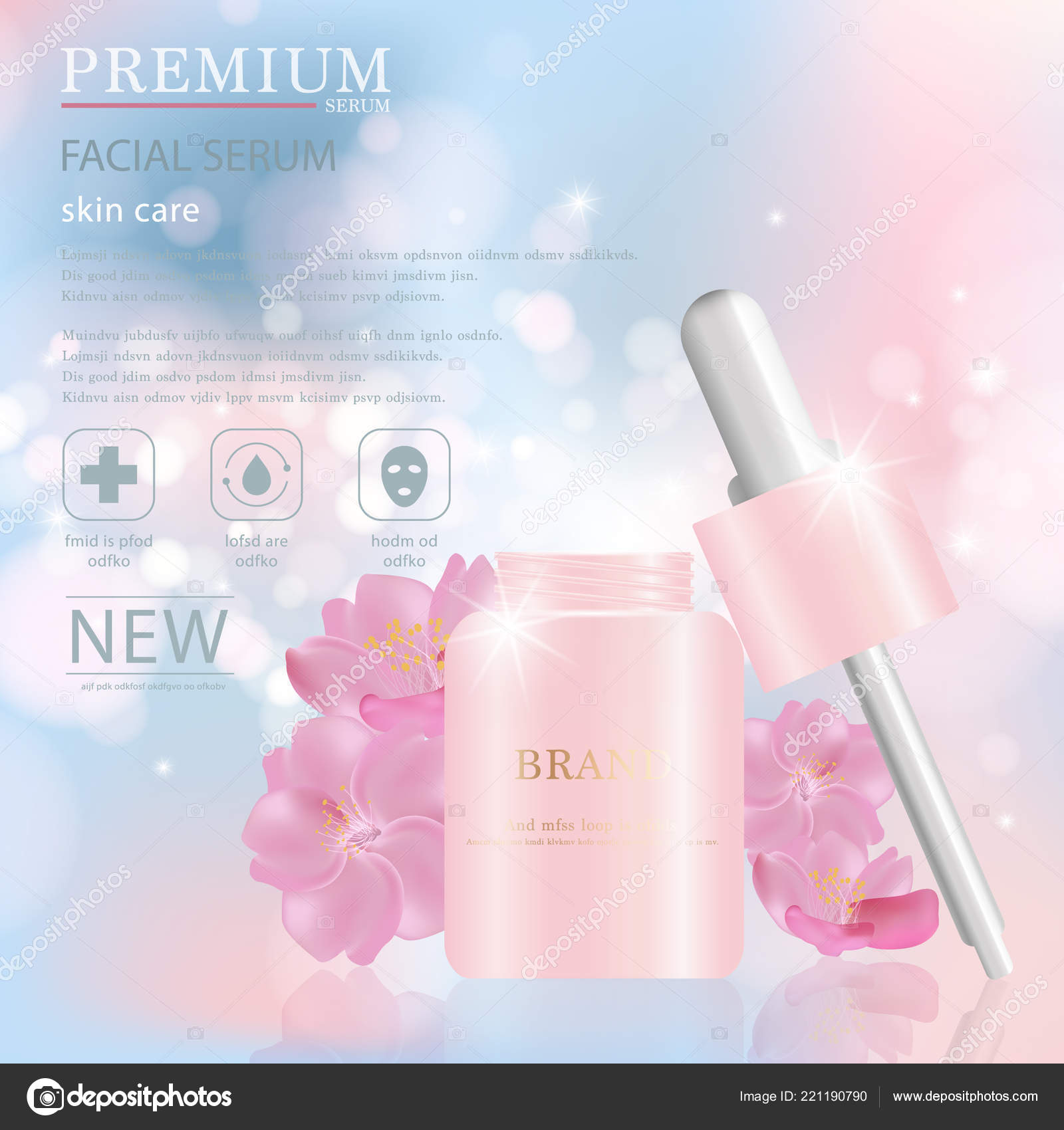Hydrating Facial Serum Annual Sale Festival Sale Silver Pink