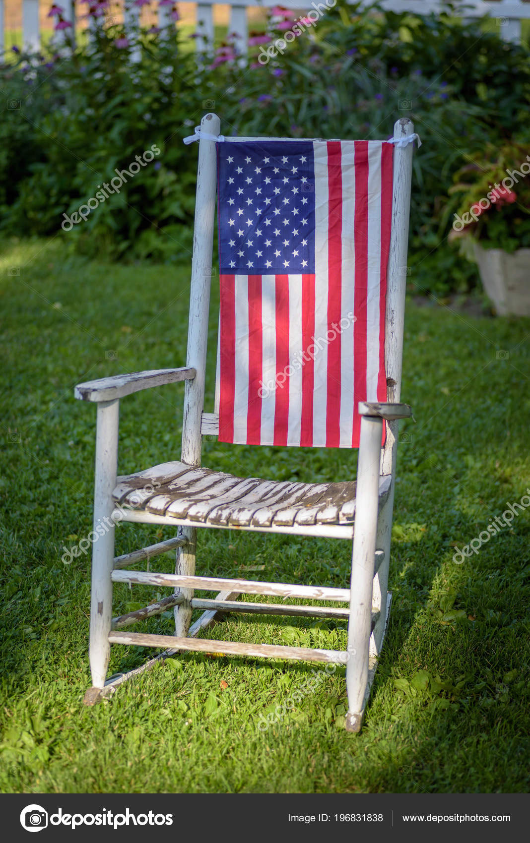 Excellent Images Painted Rocking Chair Rustic Old White Painted Short Links Chair Design For Home Short Linksinfo