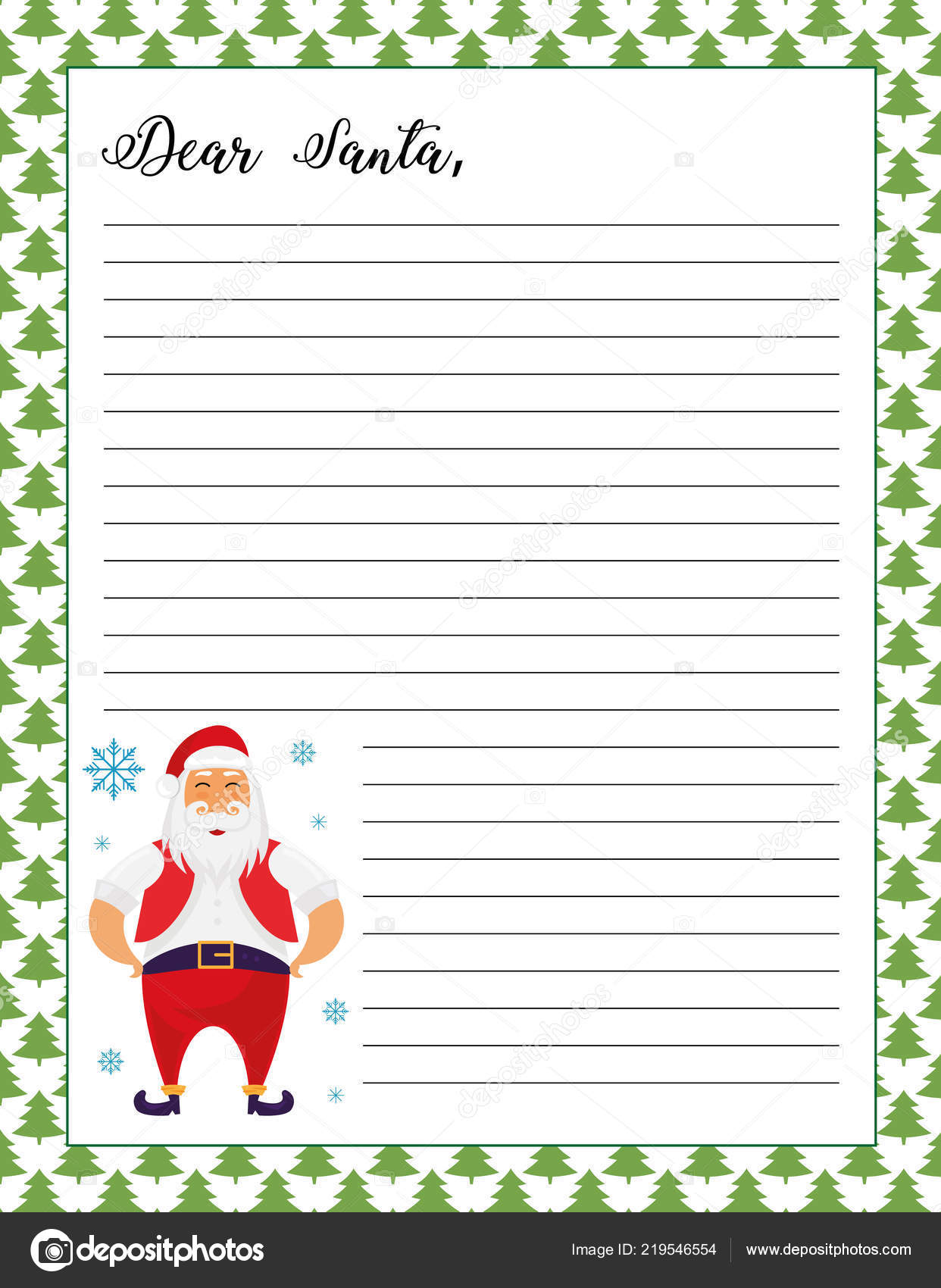photo regarding Santa Claus Printable referred to as Letter Santa Printable Site Santa Claus Instance Inventory