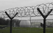 Fotografia recinzione con filo spinato