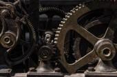 Clockwork large vintage clock.
