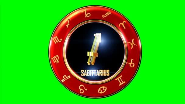 Tento burzovní pohybu grafické funkce, symbol zvěrokruhu se v indické astrologii. Znamení zvěrokruhu je obklopeno červený disk, který má jiné symboly indického zvěrokruhu systému. Tento transparentní prvek slouží na televizní pořady, mobilní aplikace, weby