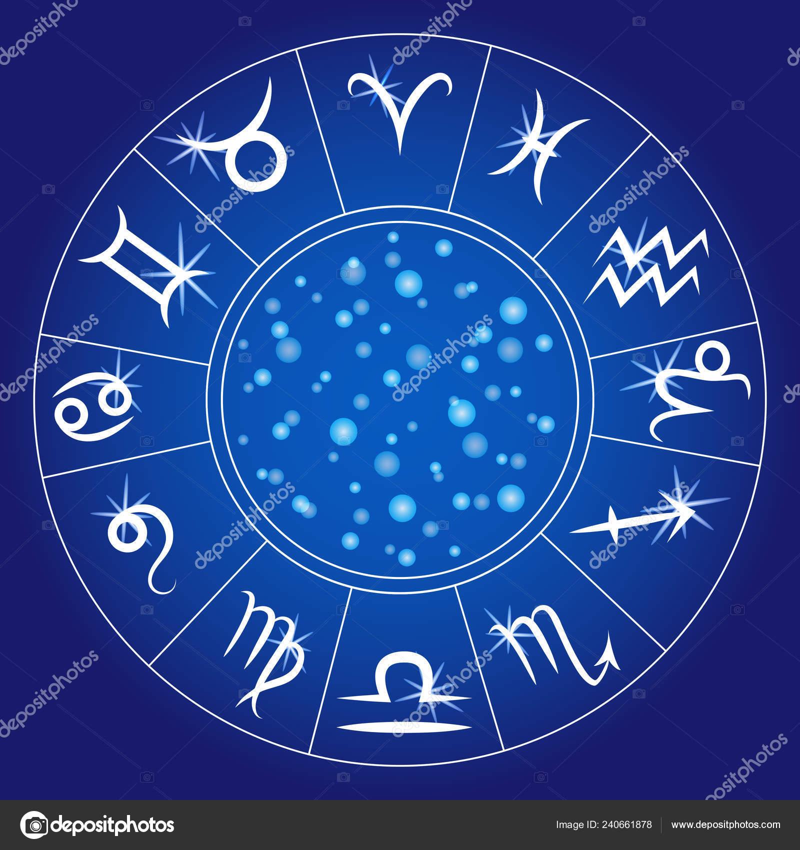 Calendario Zodiacal.Signos Del Zodiaco Ronda Zodiacal Calendario Astrologico Horoscopo
