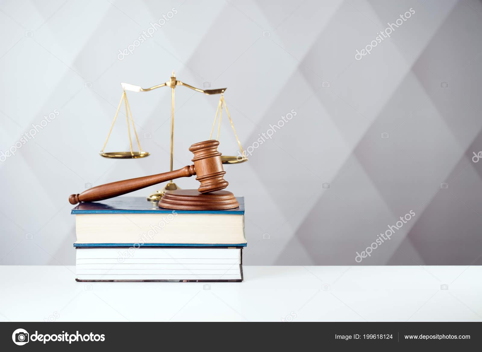Symbols Law Justice Concept Image Stock Photo Chodyramichal
