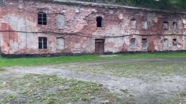 Fort number 5 in Kaliningrad. German ancient fort.