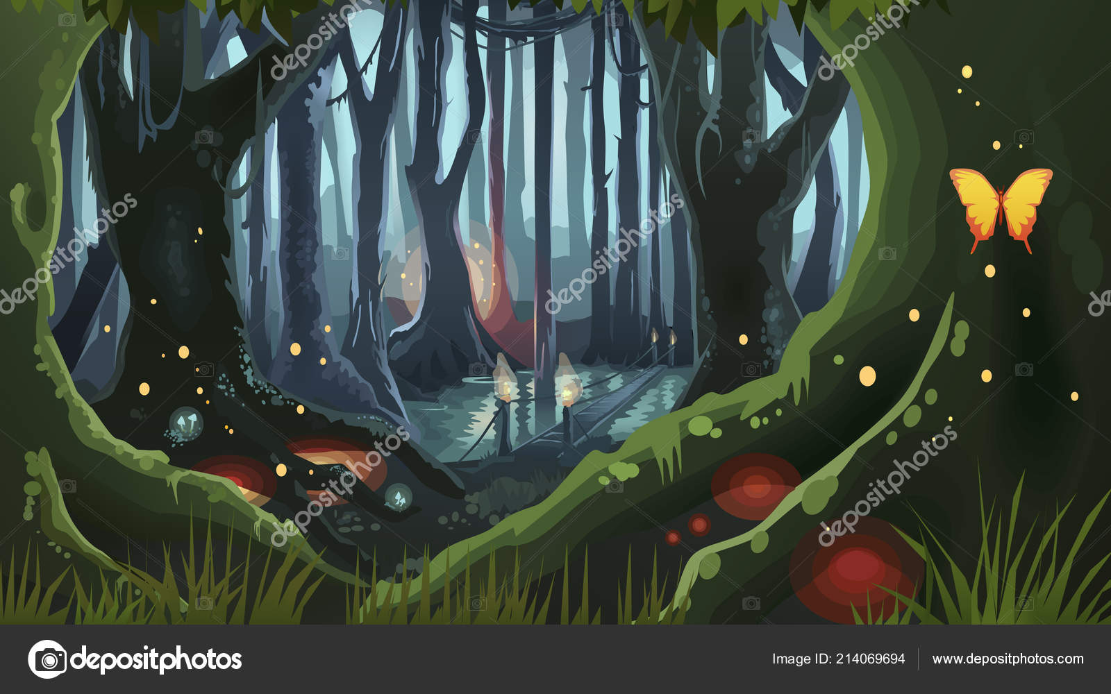 Magic Tree Fantasy Art