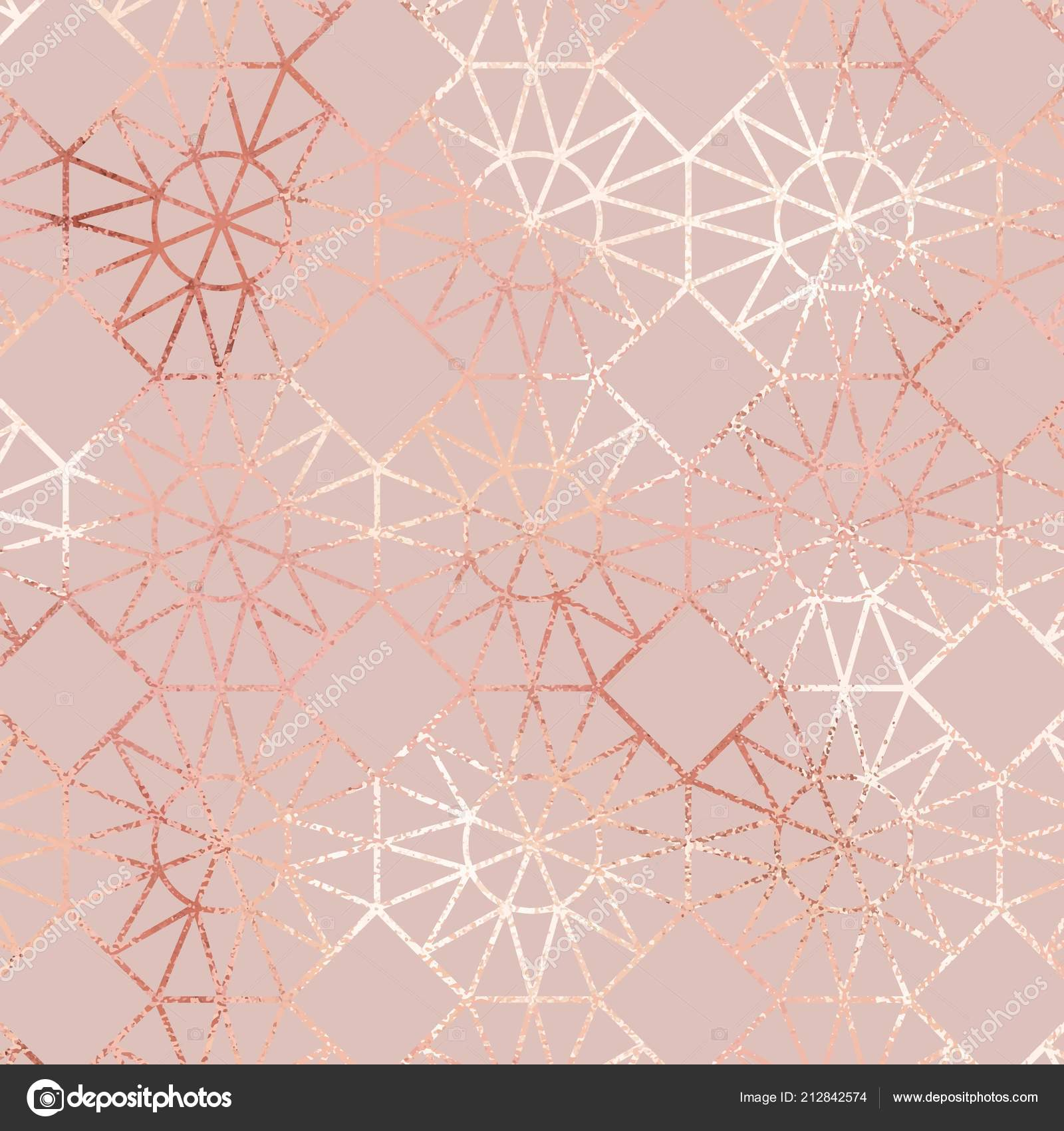 Rose Gold Pattern Cool Design Ideas