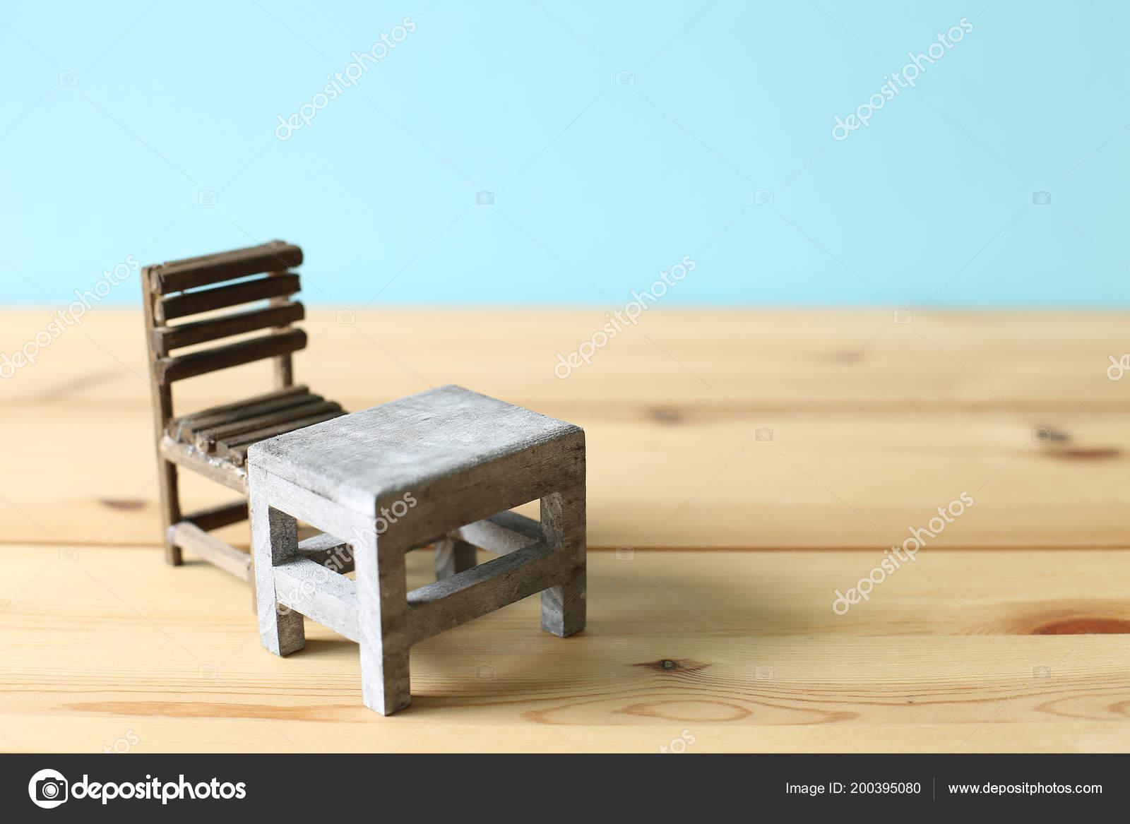Old School Desk Chair U2014 Stock Photo