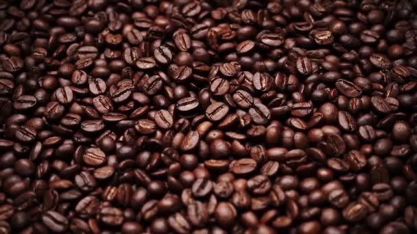Hintergrund der Kaffeebohne Arabica-Kaffee geröstet