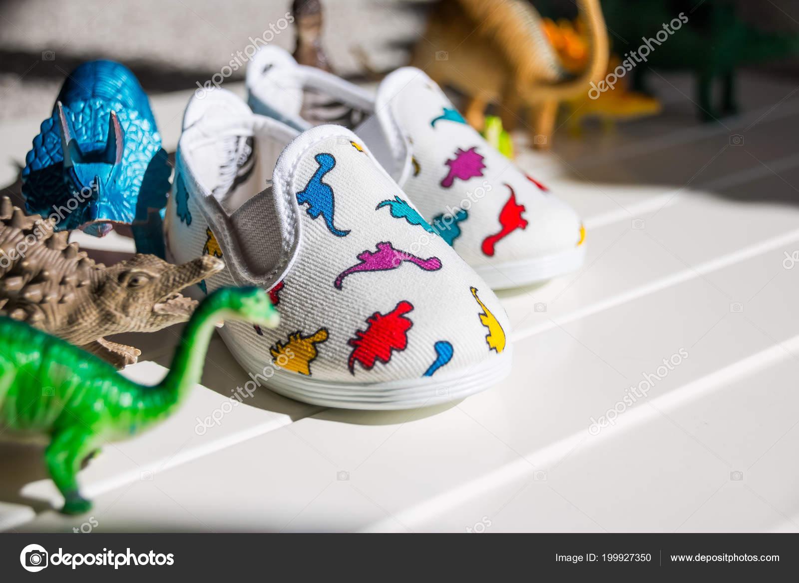 Multicolor Dinosaurio Colores Botas Niño Elegante Moderno Moda SVMUpz