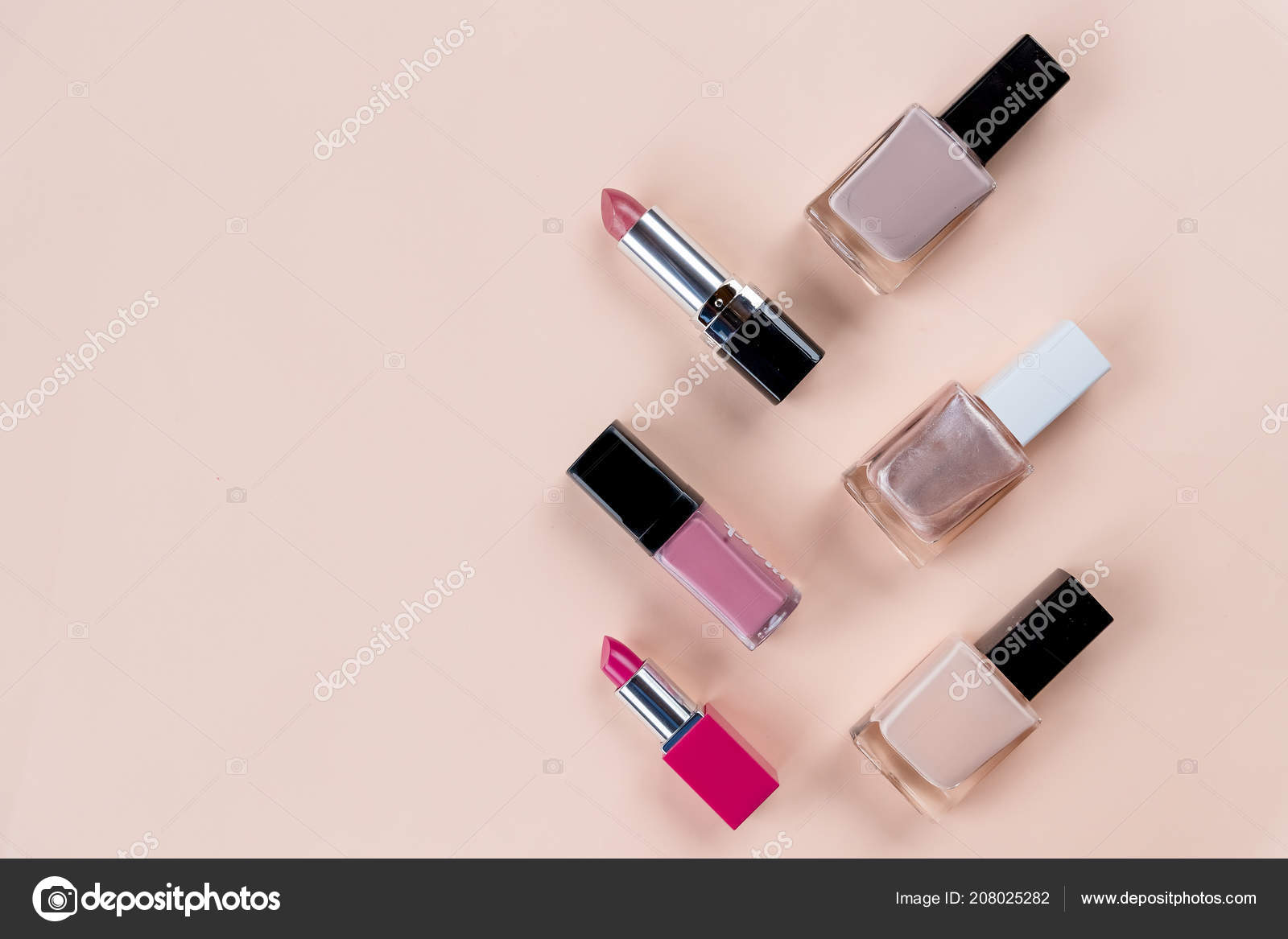 Pastel Background Cosmetics