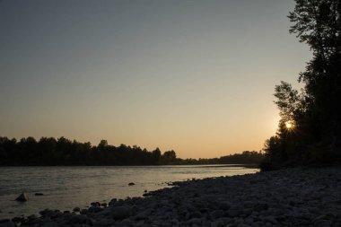 Sunset on the Katun River