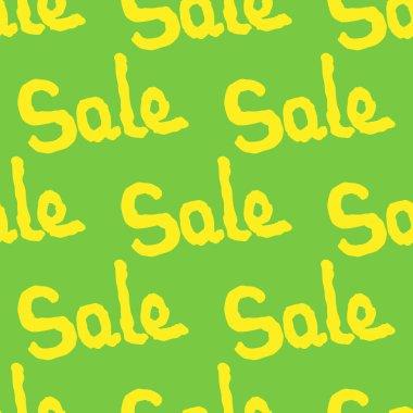 Sale seamless pattern