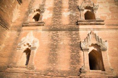 Myanmar. Bagan. A beautiful view of city temples.