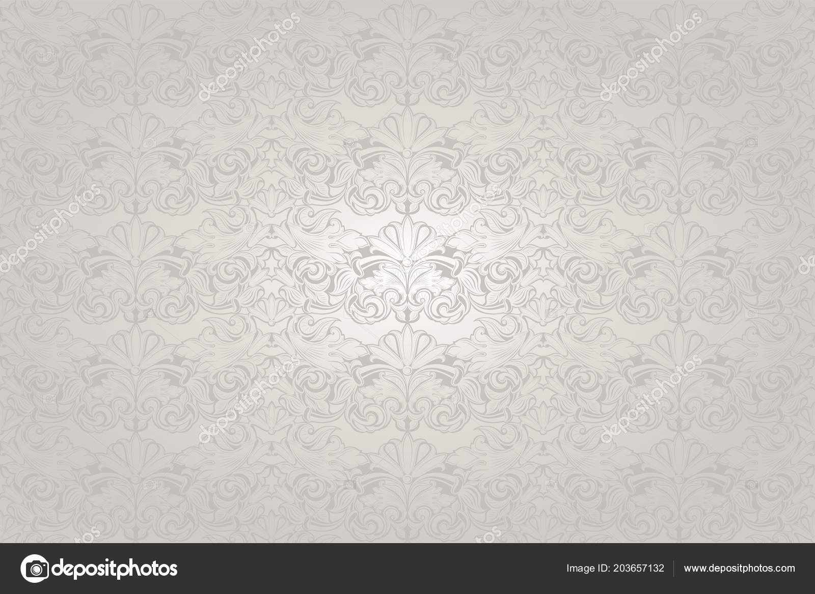 white wedding background pearl shine royal vintage classic baroque pattern stock vector c xennya 203657132 depositphotos