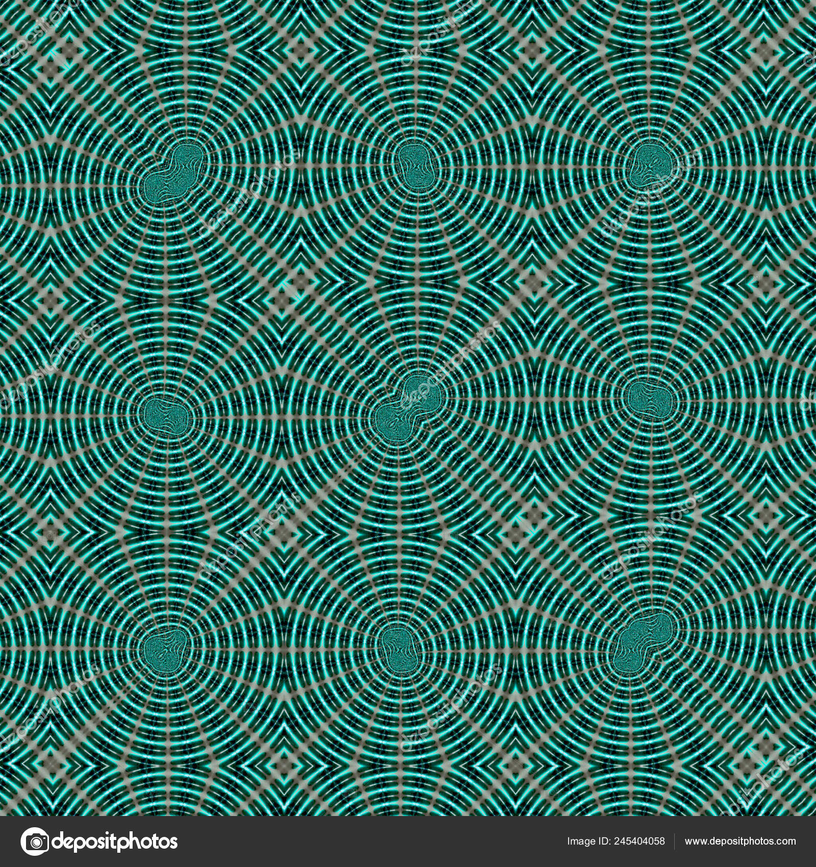 Continuous Pattern Background Carpets Tapestries Fabric